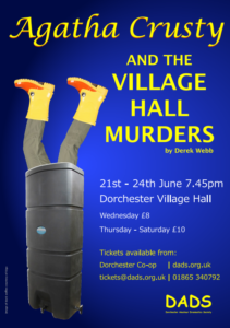 DADS production: Agatha crusty and the village hall murders