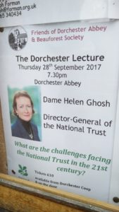 """The Dorchester Lecture"" - with Dame Helen Ghosh @ Dorchester Abbey 