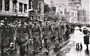 Historical Society: The Queen's Own Oxfordshire Hussars at the end of WWI