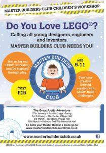 Lego Master Builders Club @ Dorchester on thames village hall | Dorchester | England | United Kingdom