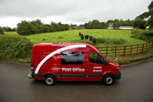 Mobile Post Office Service @ outside the Co-Op in Dorchester High Street