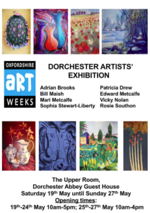 Oxfordshire Art Weeks: Dorchester artists' exhibition @ Dorchester abbey guest house | Dorchester | England | United Kingdom