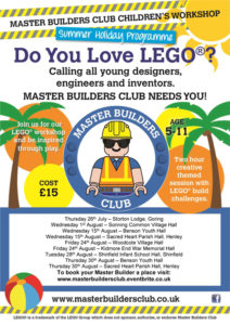 Master Builders Club Childrens Workshop @ Benson, Oxfordshire | Benson | England | United Kingdom