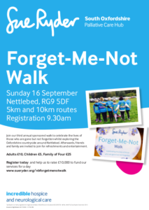 Forget-me-not walk @ Nettlebed, RG9 5DF | Nettlebed | England | United Kingdom