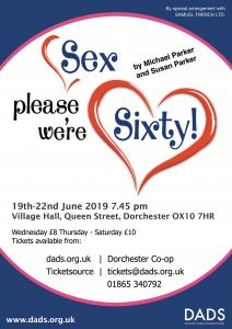 "D.A.D.S. Performance - ""Sex please, we're sixty!"" @ Village Hall, Dorchester on thames"