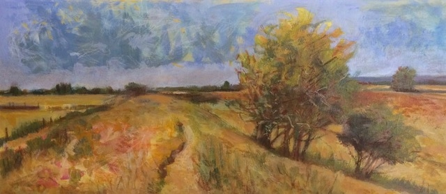 Dyke Hills by J D Robinson