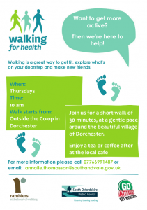Dorchester Health Walk @ Co-op
